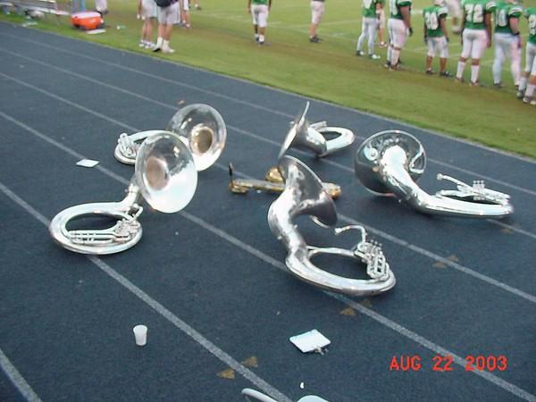 2003-08-22: Football - Cary vs Leesville