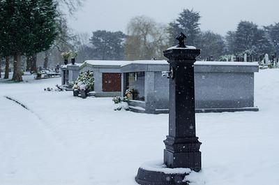 Beckenham Cemetery - Jan 2013