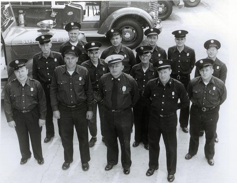 Sonoma Fire Dept. - 1950s