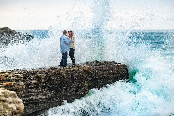 Lisa and Rory engagement @ Panther Beach, Santa Cruz