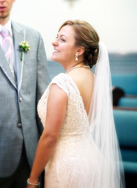Blushing bride at the altar.jpg