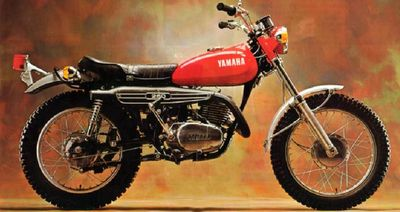 1971 Yamaha DT 250  Bought in Hong Kong, crate lashed to mid ship torpedo 01 level on destroyer, Assembled and rode it off the gang plank onto pier in San Diego. Lots of street and desert riding east and north.