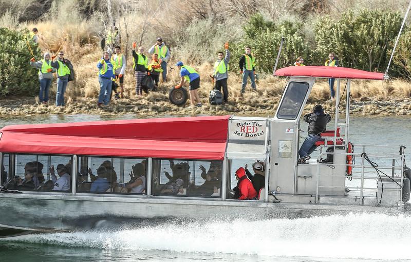 Marnell pre river regatta cleanup 2018