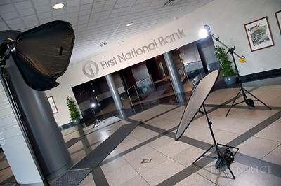First National Bank Portraits