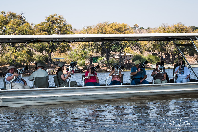 Photo Safari on Chobe River with 360 Degree Swivel Seats