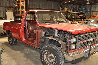 83 Chevy K10 Rust Repair
