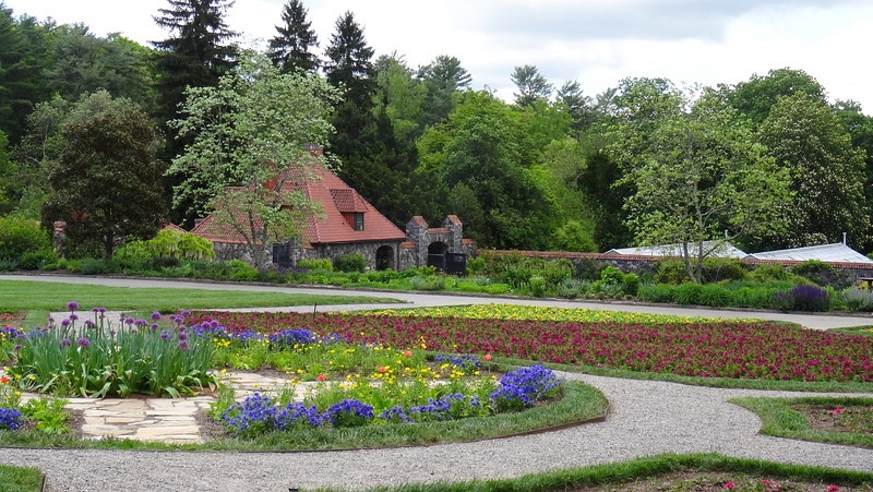 The garden at Biltmore