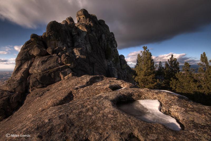 Stack Rock, Idaho.