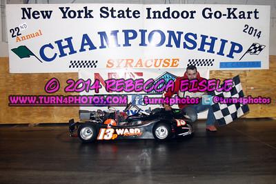 2014 Indoor Kart Feature Winners