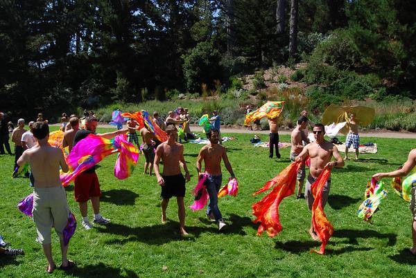 Flagging in Golden Gate Park