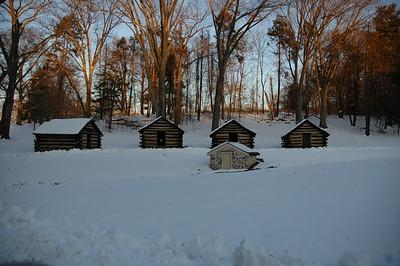 Washington Crossing, Trenton, Princeton, Valley Forge