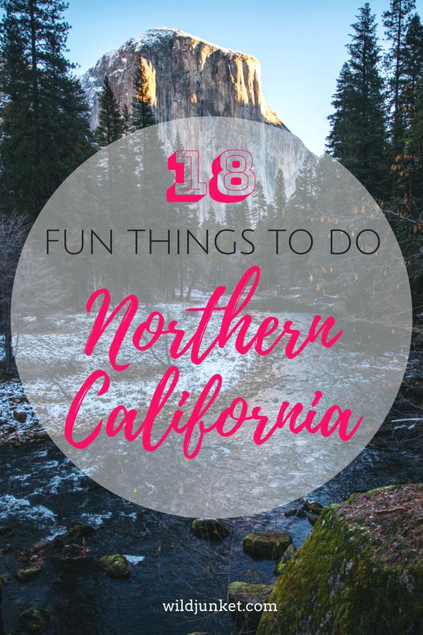 fun things to do in northern california