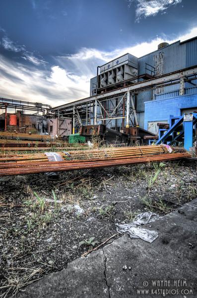 Metal Pile -  Photography by Wayne Heim