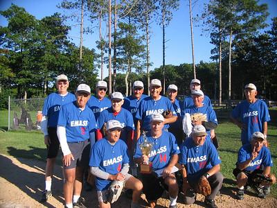 Dad's Senior Softball Team Championship