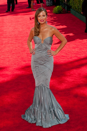 Catt Sadler on the red carpet at the Emmys