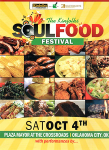 """The SoulFood Festival"" Sat Oct 4, 2014"