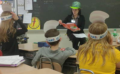 St. Luke's Reads to Students, Submitted, Panther Valley Elementary School, Nesquehoning (2-28-2013)