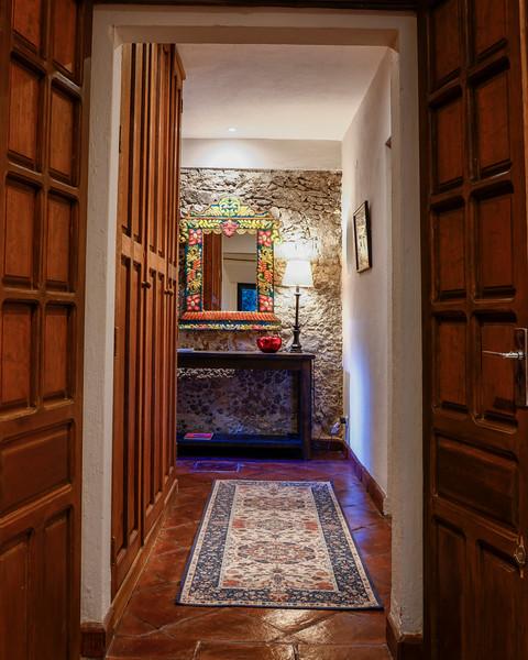 Downstairs Full Bath and Hallway