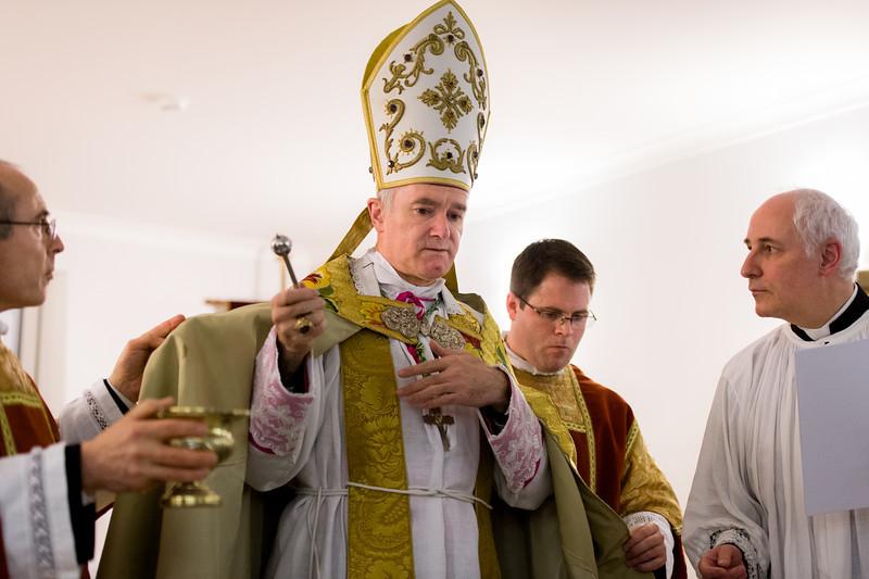H. E. Mons. B. Fellay visit in Riga