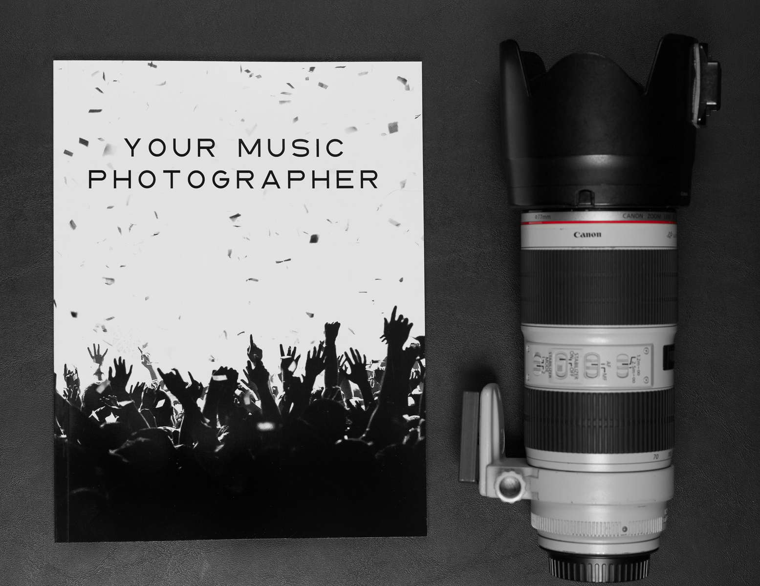 Your Music Photographer Magazine by Adam Elmakias