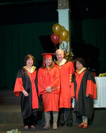 Graduation - Santa Cruz 2012 - Diplomas