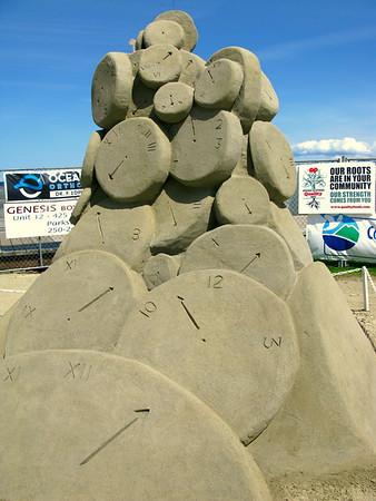 Parksville Sandcastle Competition - Jul 11