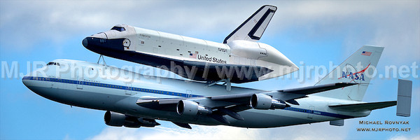 Space Shuttle at JFK 04.27.12