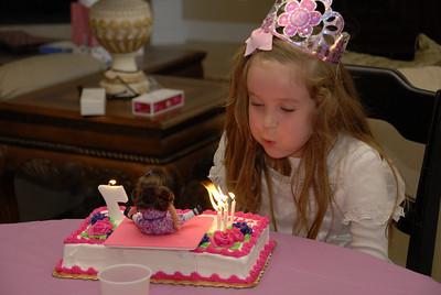 Katherine's 7th Birthday Party