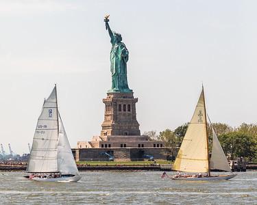 Statue of Liberty 12 Meter Cup Regatta
