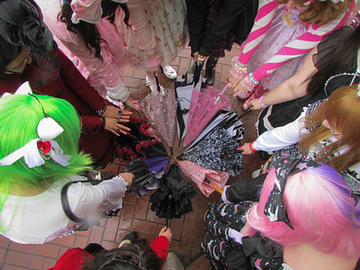 Oregon Lolita Umbrella Meetup