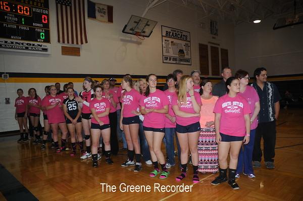Volleyball vs Rockford - Pink Night