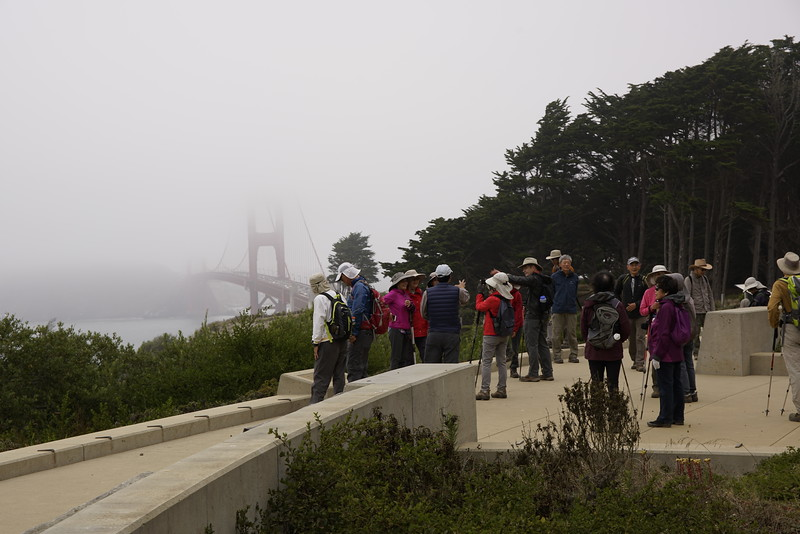 Hiking in the Marina, SF
