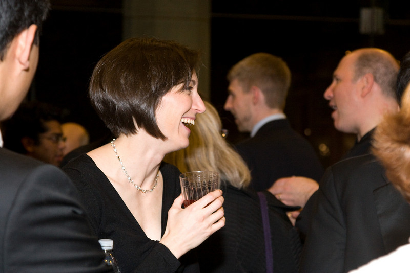 Lisa Tinanoff -- HSO 25th anniversary post-concert Gala