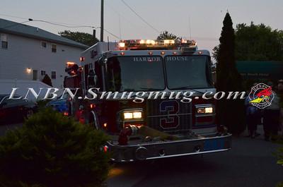 Wantagh F.D. Car Fire Byron St  9-10-12