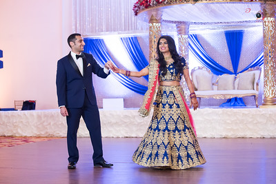 AMY AND NEHAL RECEPTION 1