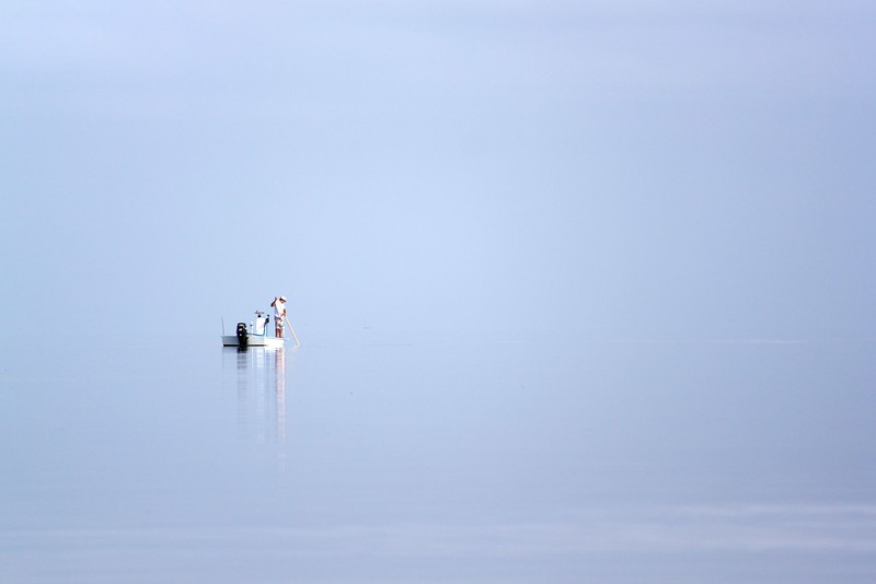 florida bay sponge fisherman