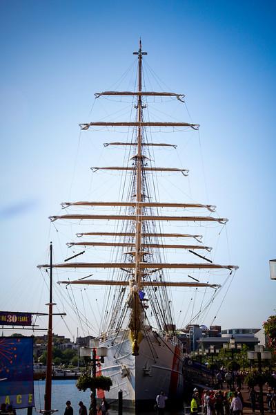 USCG Barque Eagle America's TallShip