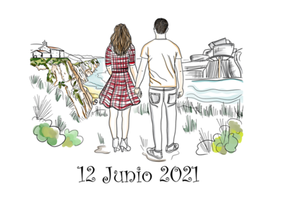 Mónica &  Alberto
