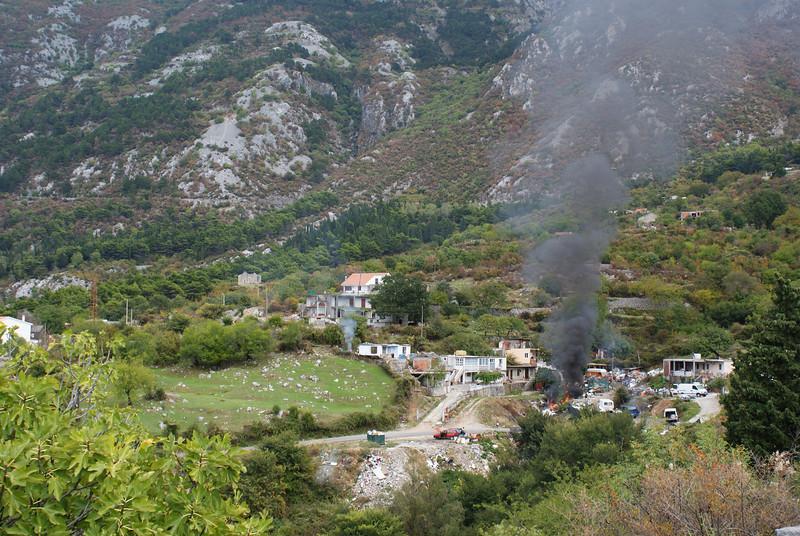 Montenegro scenery.