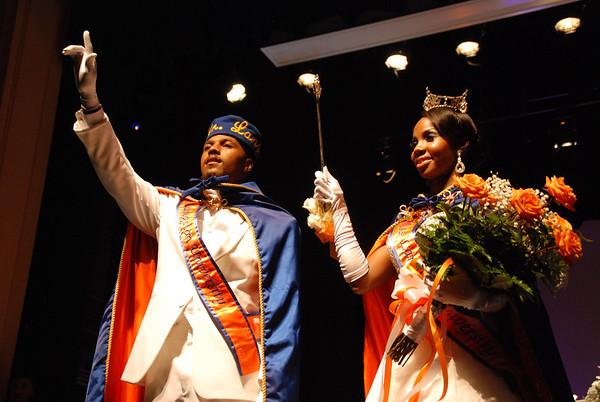 Mr. Langston University 2013 - Charles E. Tucker II and his Queen Miss Langston - Jasmine Redo