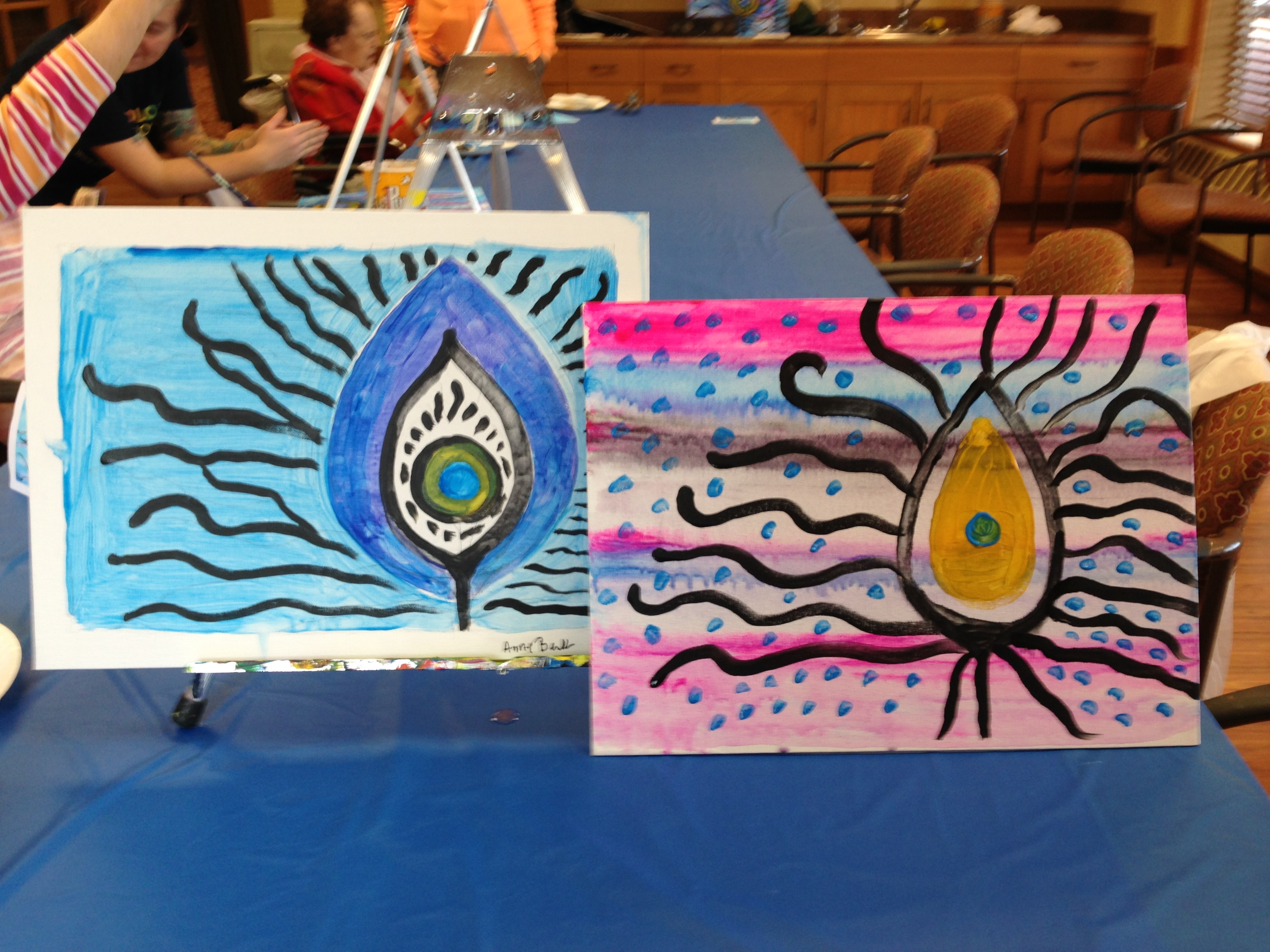 Wiggins Place Painting Party 2/1/16