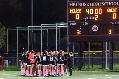 MHS Girls Soccer vs Wilmington 06OCT21 Breast Cancer