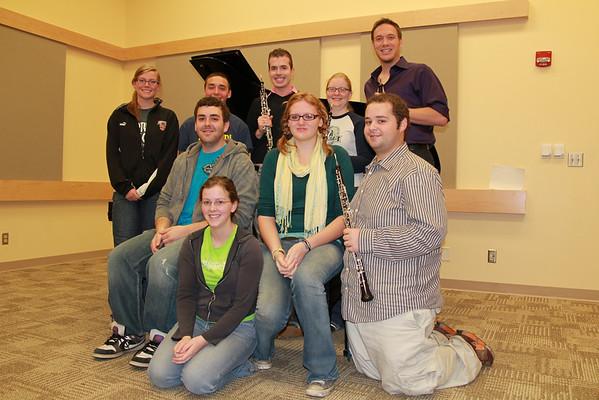 oboe studio Nov. 2010