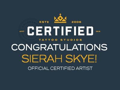 Certified Tattoo Studios - January 19, 2020