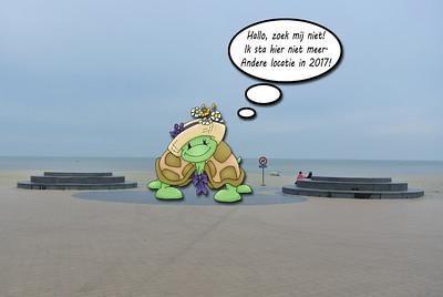 2014 Aan 't zeetje 'Nieuwpoort'...