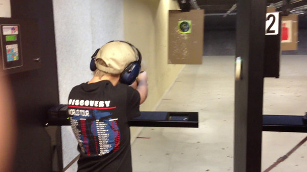 Shooting @ Big Woods 01-07-2012 Video