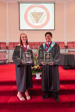 2012 Graduation - Jeremiah Ybanez and Kaitlyn Krebushevski