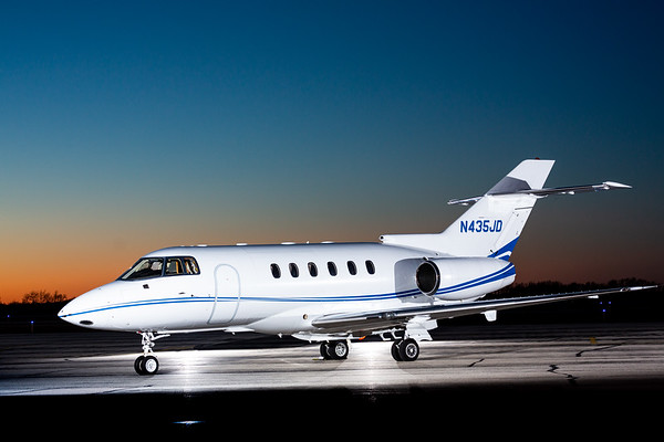 Hawker 800XP N435JD (High Res No Logo)