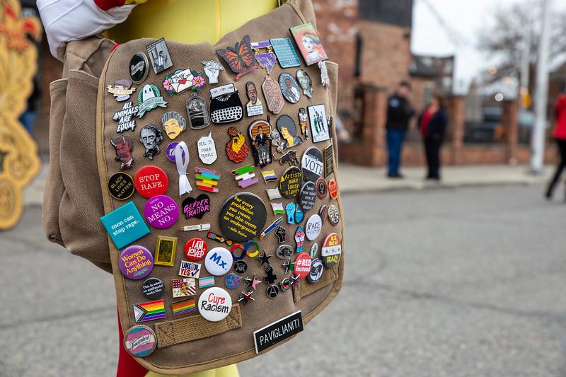 2019 Marche du Nain Rouge - Detroit: Joe Alcodray