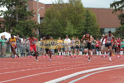100M Men Prelims - 2015 Big Ten Outdoor T&F Championships